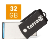 TERRA USThree A+C USB3.1  32GB 180/10 black (2190001)
